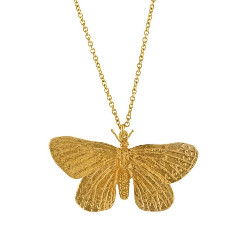 Alex Monroe Pendant Alex Monroe gold duke of burgandy butterfly pendant