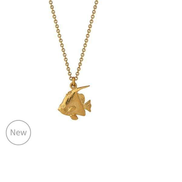 Necklace Alex Monroe Gold angelfish necklace