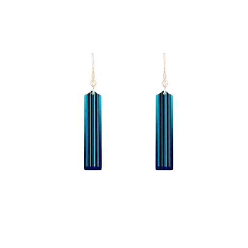 Aluminium Designs Earrings Aluminium Designs turquoise moda hook earrings