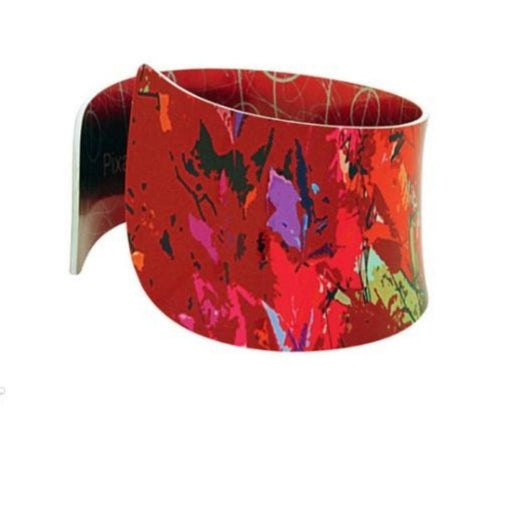 Bangle Aluminium Designs meadow red bangle