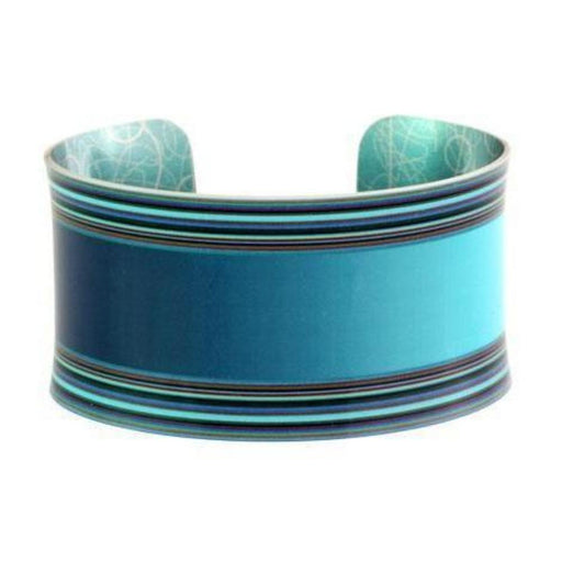 Bangle Aluminum Designs moda turquoise bangle