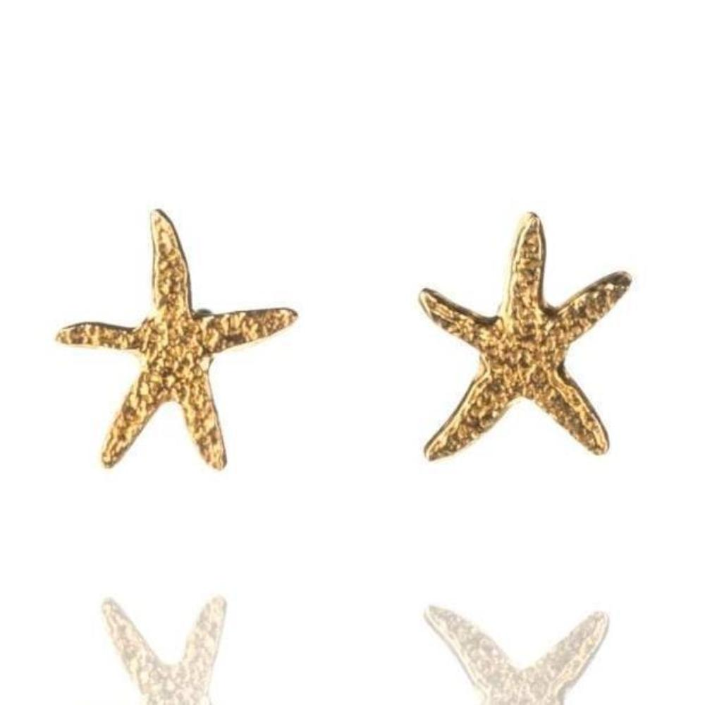 Amanda Coleman Earrings Amanda Coleman gold starfish stud earrings