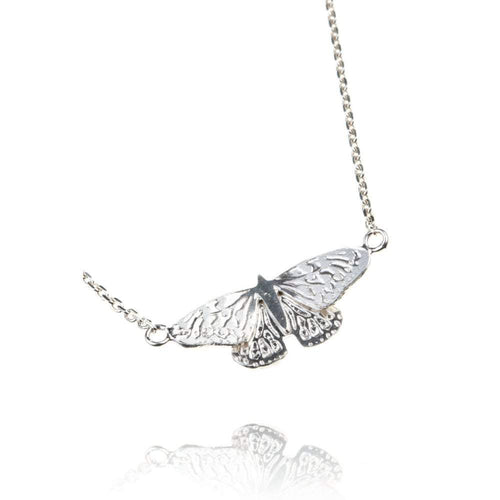 Amanda Coleman Necklace Amanda Coleman Silver butterfly necklace