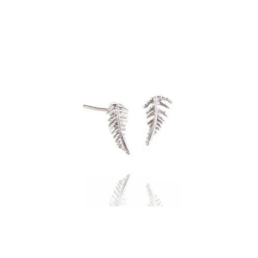 Amanda Coleman Earrings Amanda Coleman Silver fern stud earrings