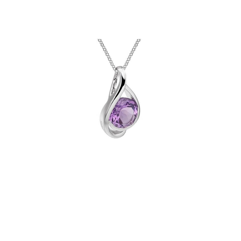 Amore Pendant Amore Silver Amethyst pendant