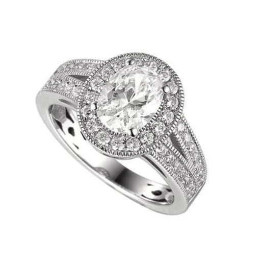 Amore Ring Amore Silver oval romance ring