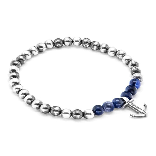 Anchor & Crew Bracelet Anchor and Crew Silver blue sodalite keel bracelet