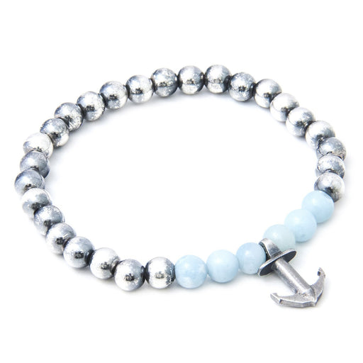 Anchor & Crew Bracelet Anchor and Crew Silver turquoise amazonite keel bracelet