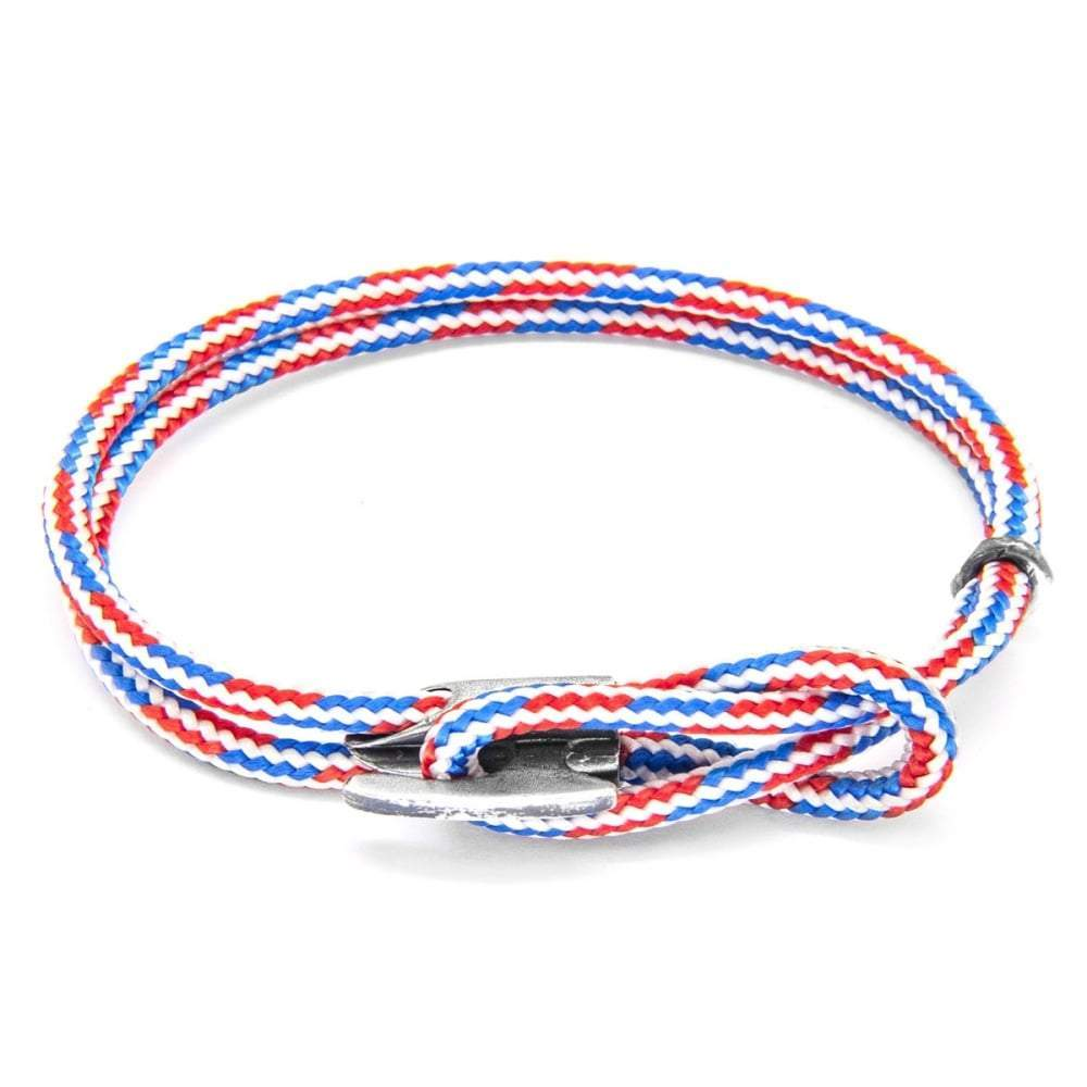 Anchor & Crew Bracelet Anchor & Crew red white and blue padstow bracelet