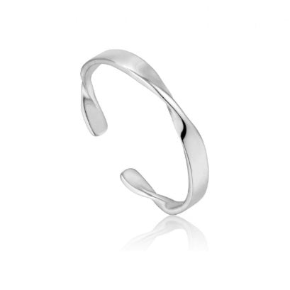 Ania Haie Silver helix adjustable ring