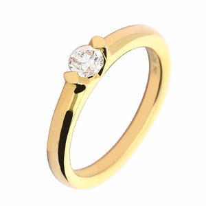 Buchwald Ring Buchwald yellow gold 0.25ct brilliant diamond ring
