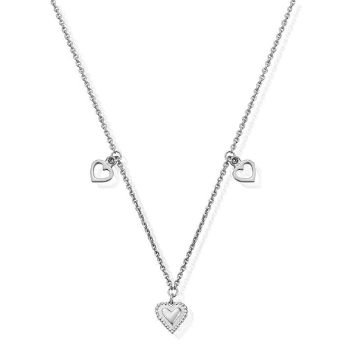 Chlobo Necklace Chlobo silver graceful heart necklace