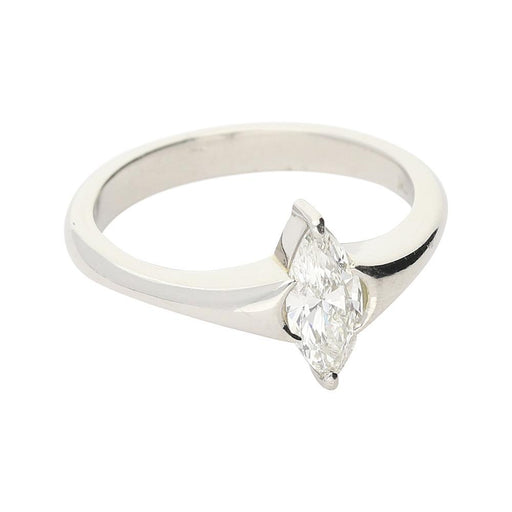 Christopher Wharton Ring Wharton platinum 0.56ct marquise diamond ring