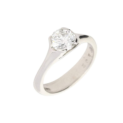 Christopher Wharton Ring Wharton platinum 1.00ct solitaire diamond ring