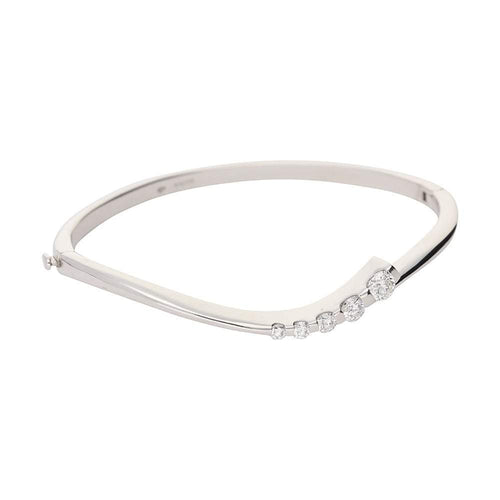 Christopher Wharton Bangle Wharton white gold diamond bangle