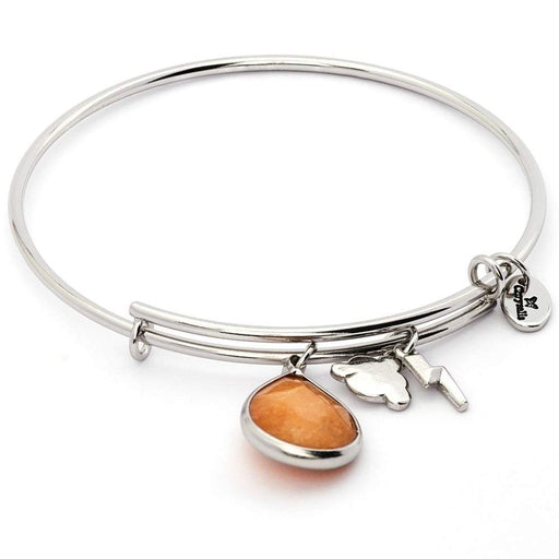 Chrysalis Bangle Chrysalis Silver citrine jade November lunar bangle