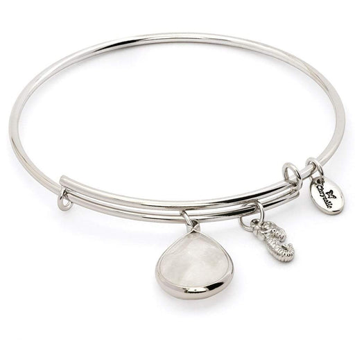 Chrysalis Bangle Chrysalis Silver crystal april lunar bangle
