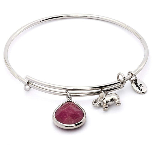 Chrysalis Bangle Chrysalis Silver garnet jade january lunar bangle