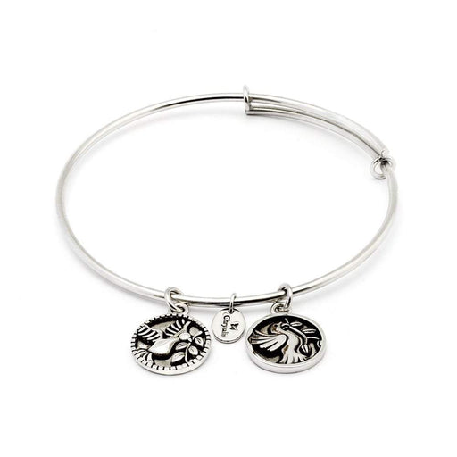 Chrysalis Bangle Chrysalis silver truth serenity bangle
