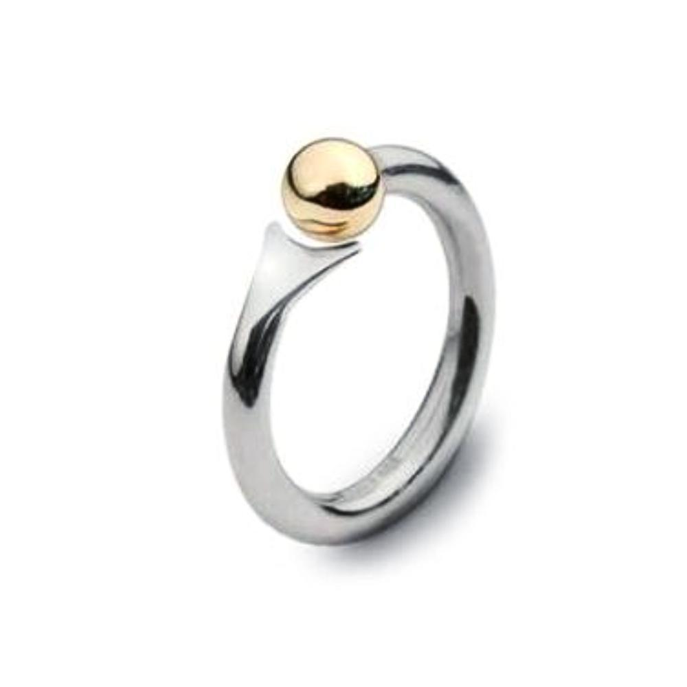Church House Ring Church House Silver gold fishtail ring