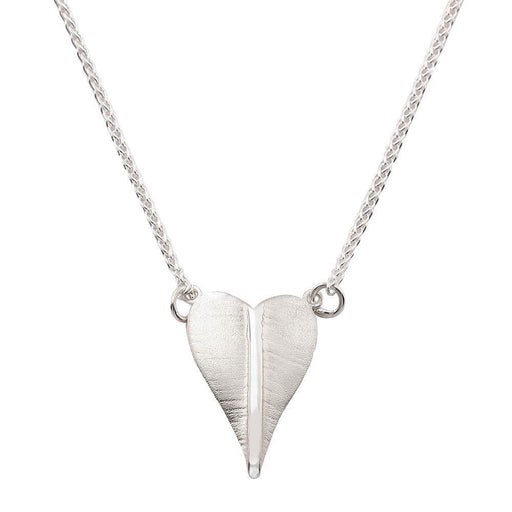 Collette Waudby Necklace Collette Waudby Silver botanica heart necklace