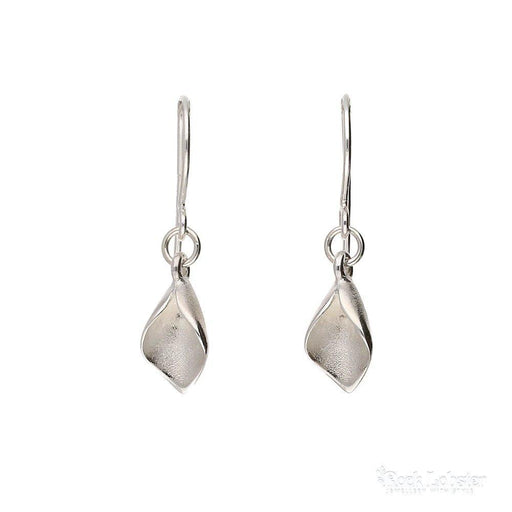 e83733ceb Collette Waudby Earrings Collette Waudby Silver tiny calla lily hooks