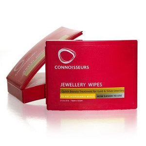 Jewellery Cleaner Connoisseurs Jewellery Beauty Wipes