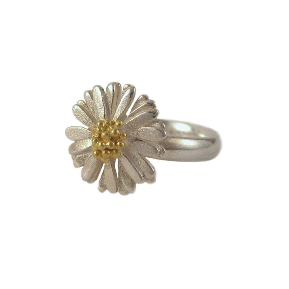 Daisies & Sunflowers Ring Silver daisy ring