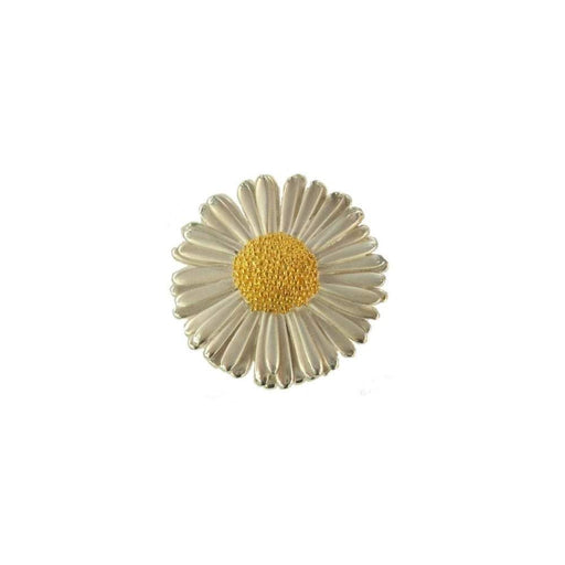 Daisies & Sunflowers Brooches Silver gold large daisy brooch