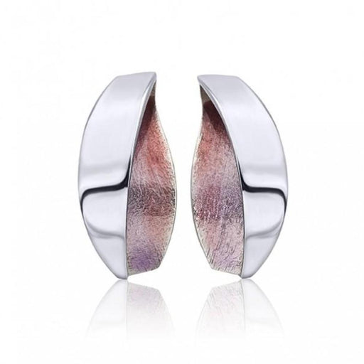 Daniel Vior Earrings Daniel Vior Silver violet enamel anciter stud earrings