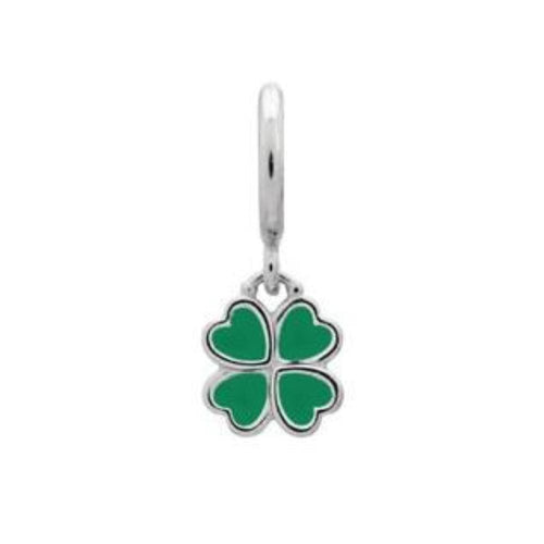 Endless Charm Endless Silver green clover charm