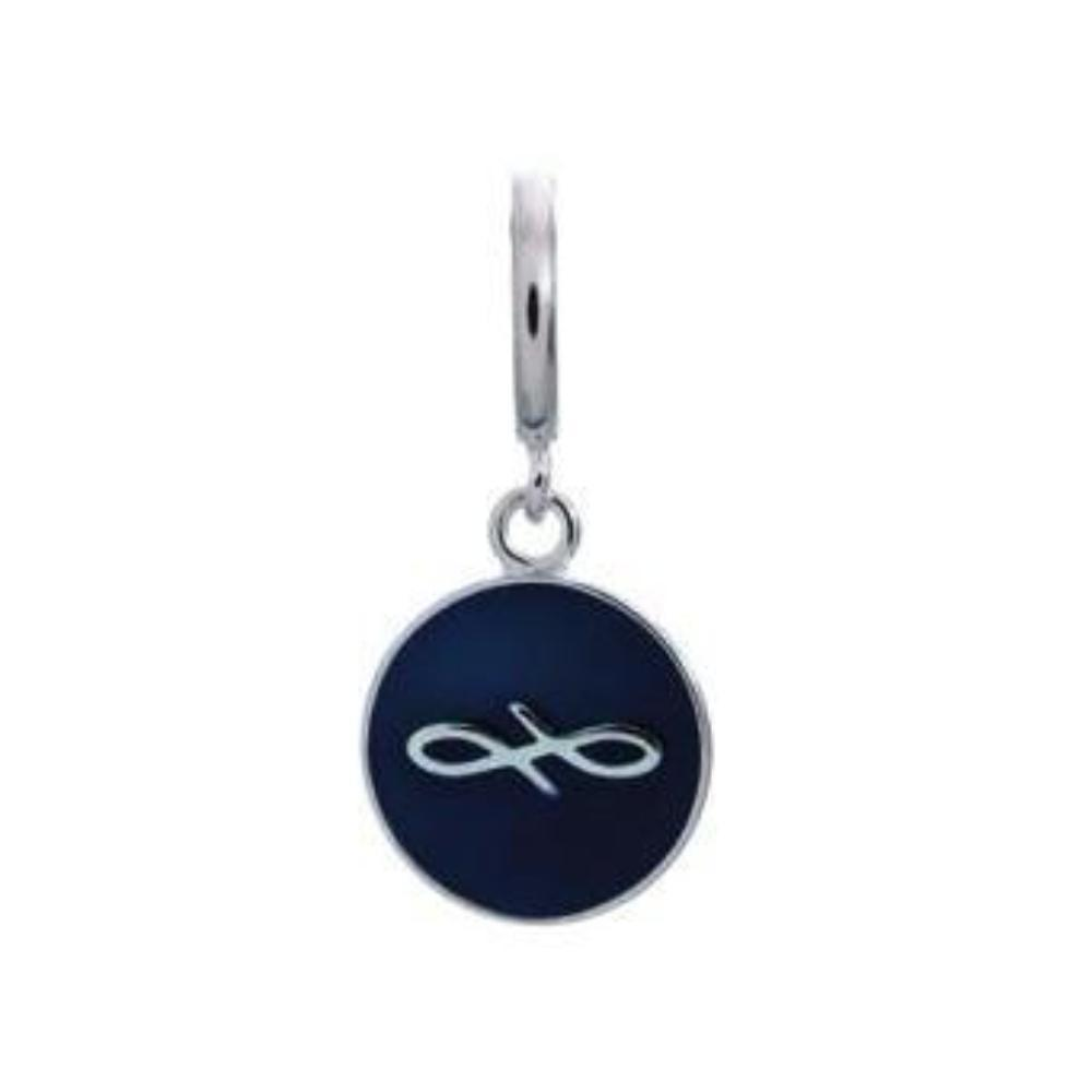 Endless Charm Endless Silver navy coin charm