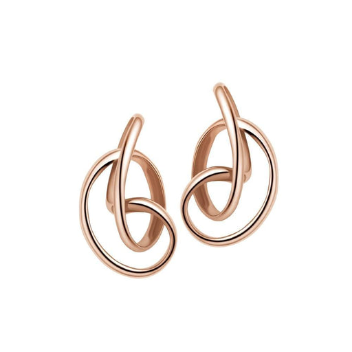 Fei liu Earrings Fei Liu Rose gold serenity stud earrings
