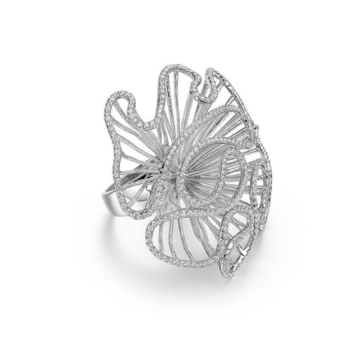 Fei liu Ring Fei Liu Silver large cascade ring