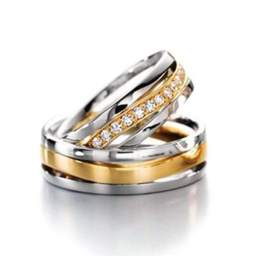 Furrer Jacot Ring Furrer Jacot 18ct white & yellow gold band