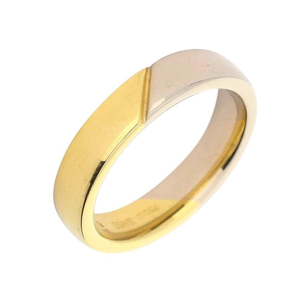 Furrer Jacot Ring Furrer Jacot 18ct yellow and white gold band