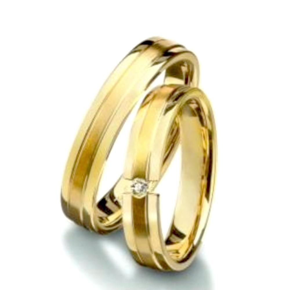 Furrer Jacot Ring Furrer Jacot 18ct yellow gold patterned band