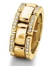 Load image into Gallery viewer, Furrer Jacot Ring Furrer Jacot diamond edged watch style band