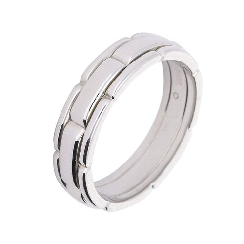 Furrer Jacot Ring Furrer Jacot Palladium brick pattern designed band
