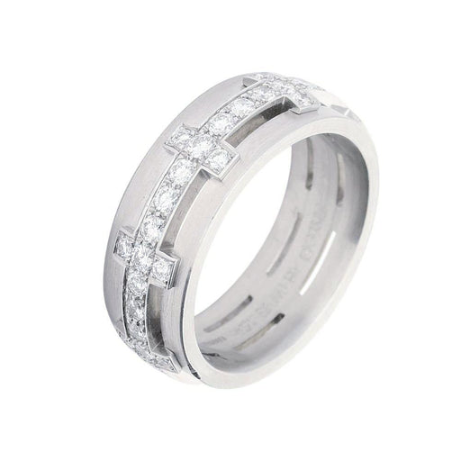 Furrer Jacot Ring Furrer Jacot Platinum diamond chilli pepper ring