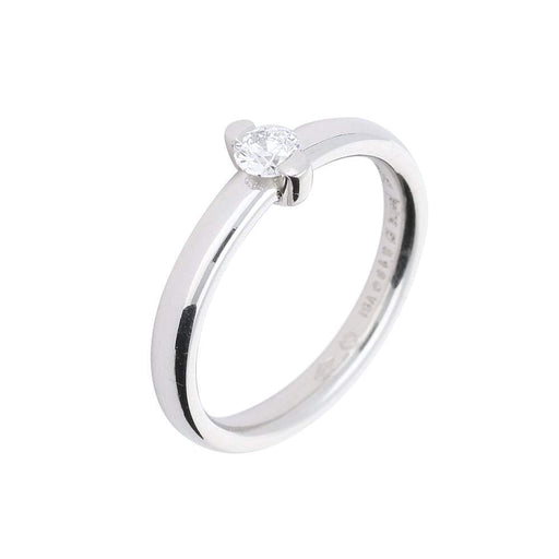 Furrer Jacot Ring Furrer Jacot Platinum feelings ring with 0.18ct diamond