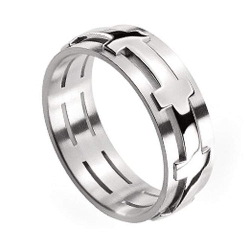 Ring Furrer Jacot Platinum chilli pepper ring