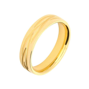 Gerstner Ring Gerstner 18ct gold band with celtic styling