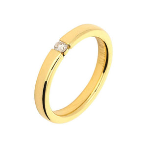 Gerstner Ring Gerstner 18ct gold brilliant cut diamond band