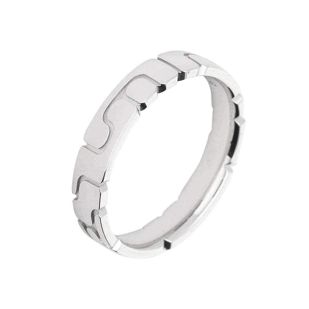 Gerstner Ring Gerstner 18ct white gold abstract band