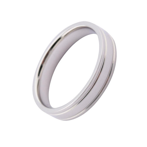Gerstner Ring Gerstner Platinum 4.5mm grooved band