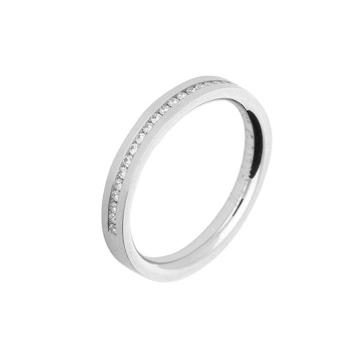 Gerstner Ring Gerstner Platinum half eternity band