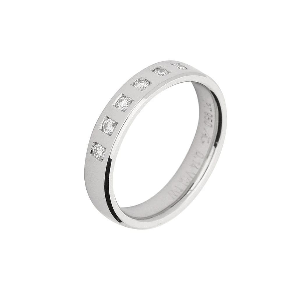 Gerstner Ring Gerstner Platinum seven diamond band