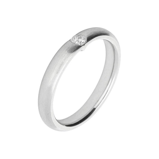 Gerstner Ring Gerstner Platinum solitaire diamond band
