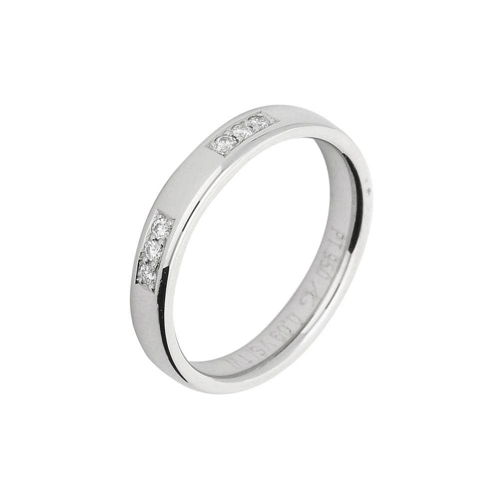 Gerstner Ring Gerstner Platinum triple set diamond band